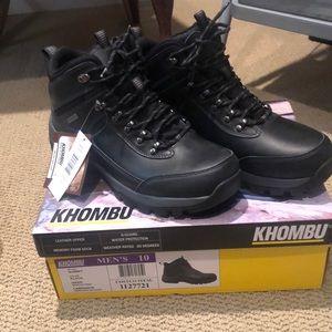 Khombu men's summit hiker boots new in box